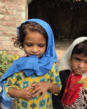 FERSA-1 (A little girl in rural Punjab, ready to go to her madrassah (REI)