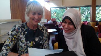 pic 1 with Prof Diane Reay